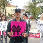 Udruženje Osvit, ulična akcija Zaštićena u Nišu (1)