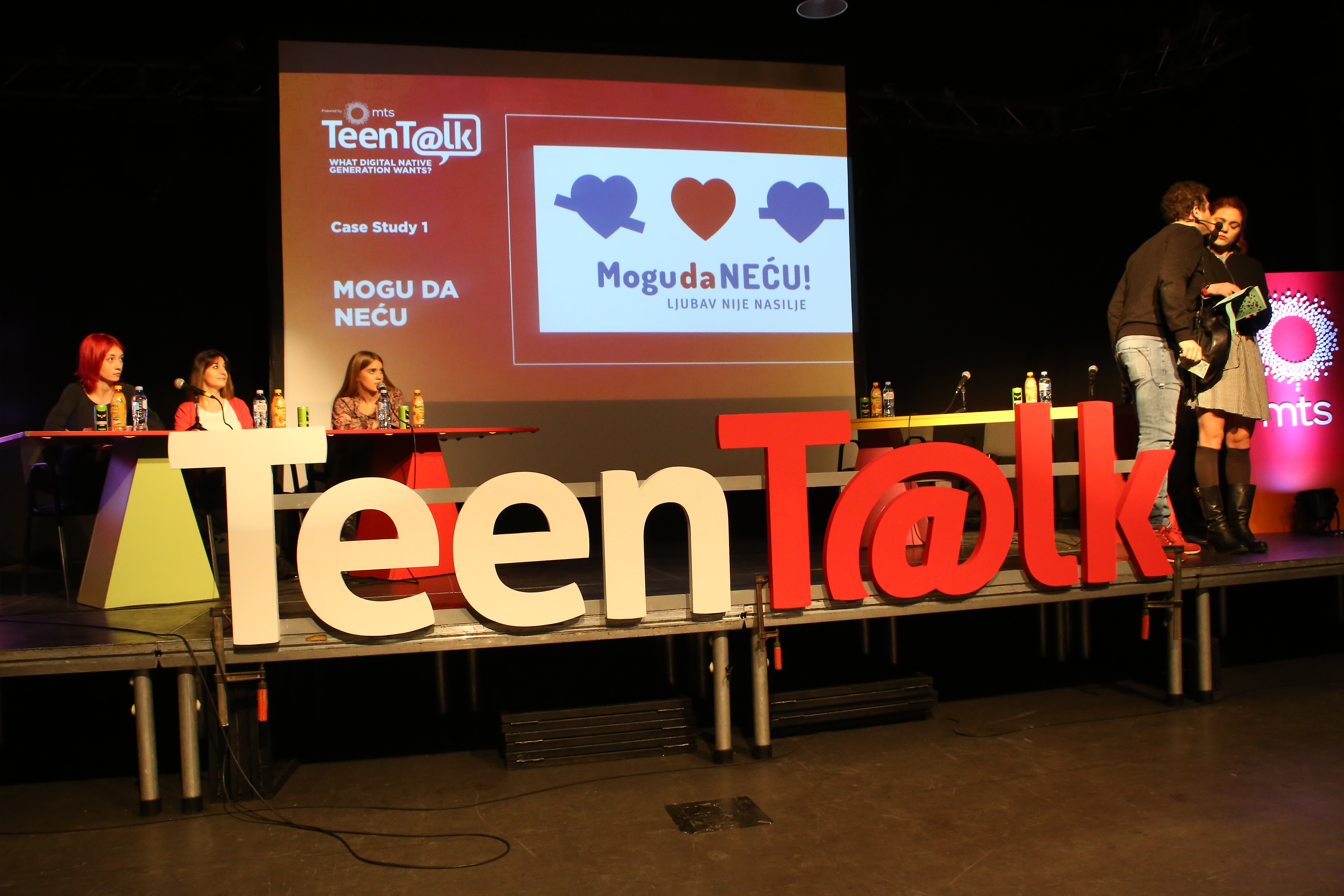 Pričali smo o kampanji Mogu da neću na Teen Talk 2017