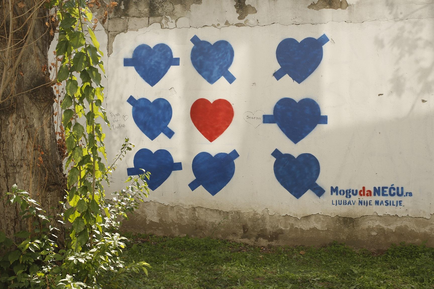 Mogu da neću grafiti u školama širom Srbije