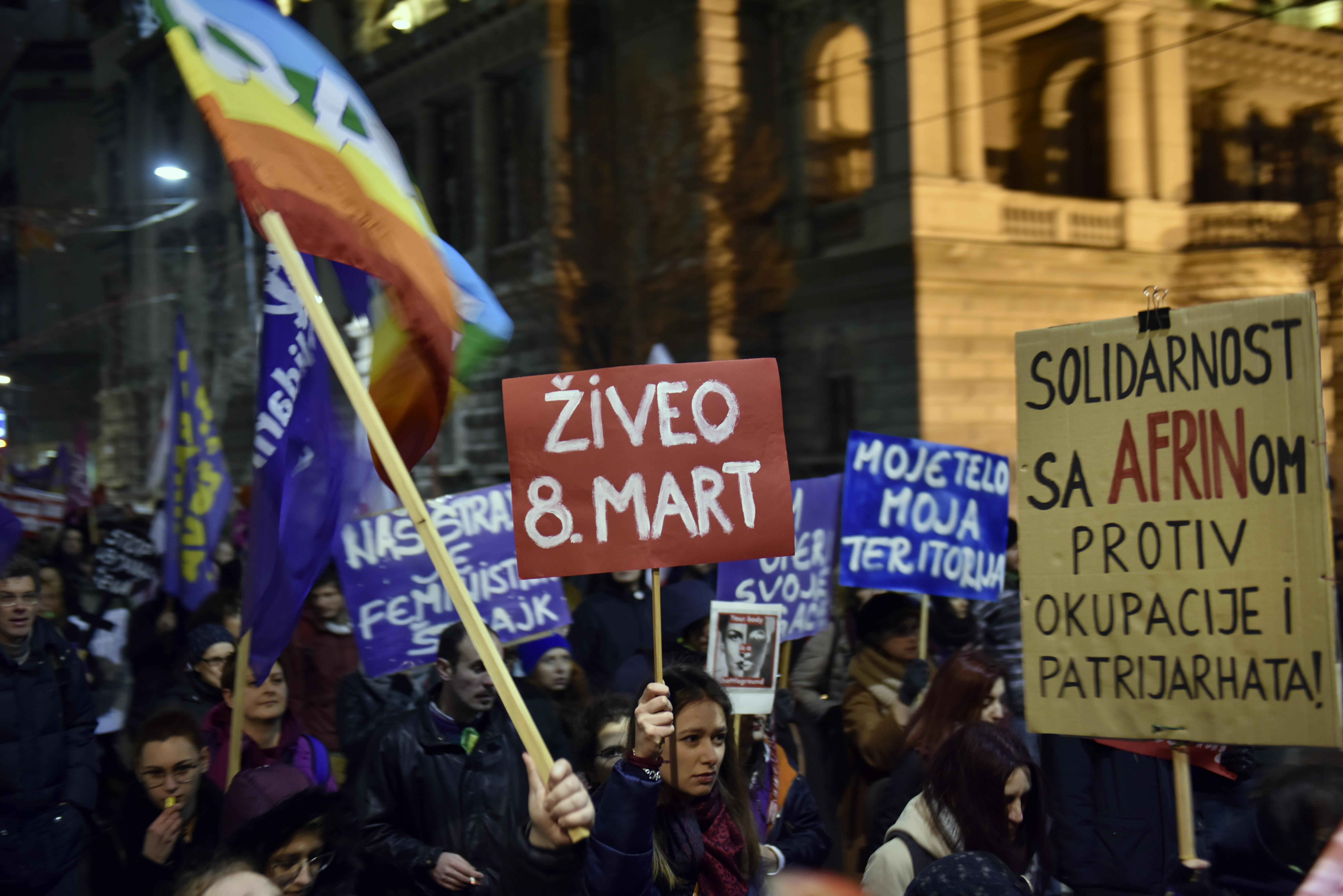 Ženski marševi širom sveta