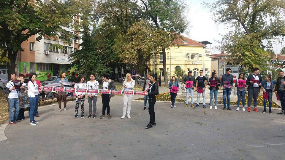 Na ulicama Kruševca i Niša podrška 'Zaštićenoj'