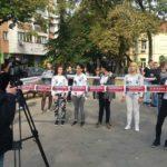 Udruženje Osvit, ulična akcija Zaštićena u Nišu (3)